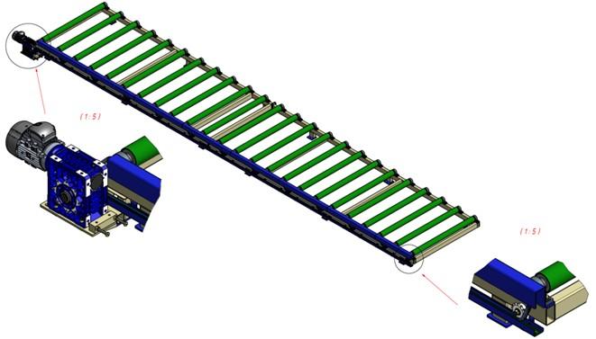Технология рольгангов гремит прокатный стан конвейер пущен