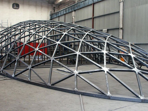 Manufacturing of non-standard metal structures